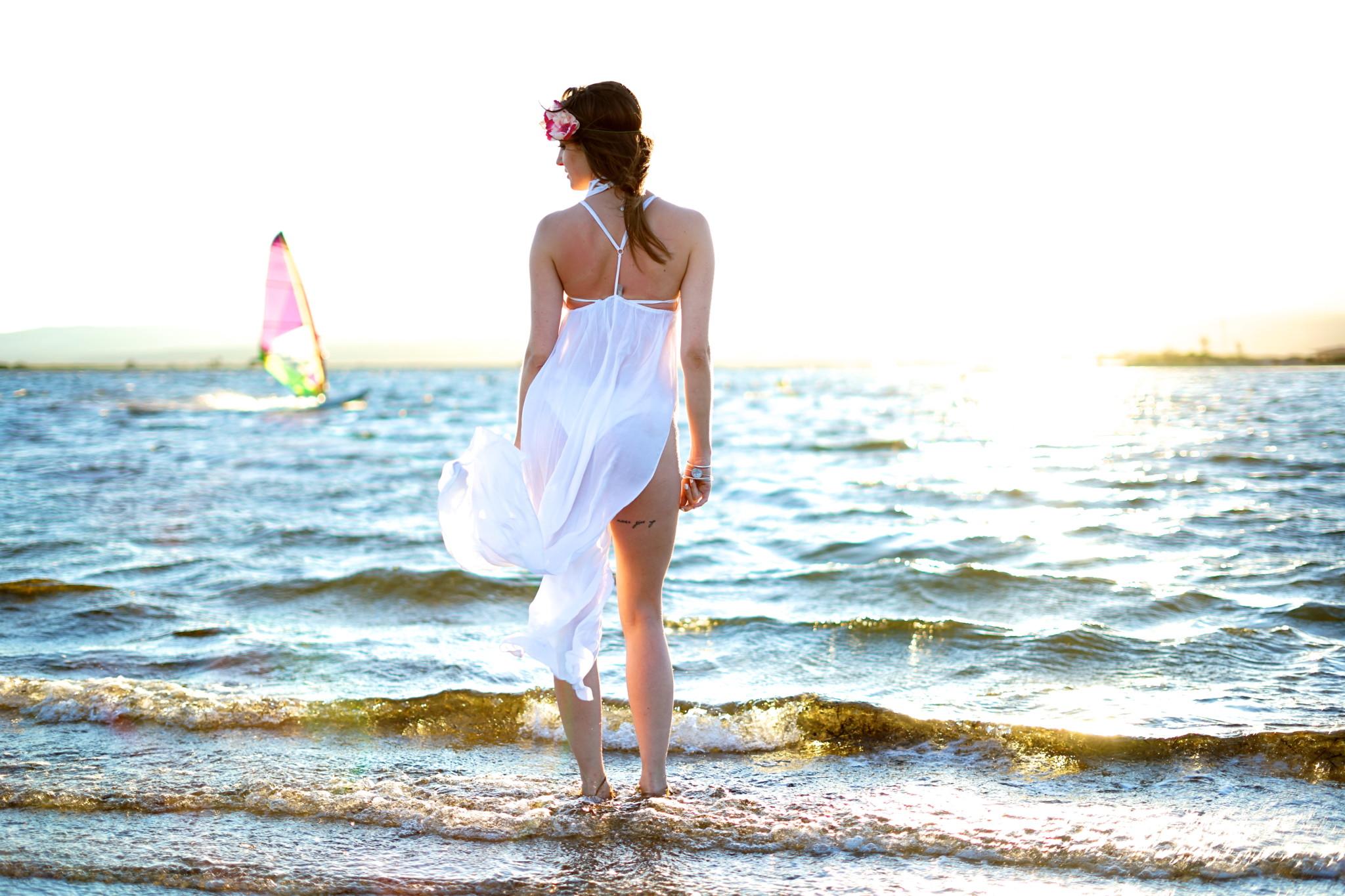 Robe de plage vacances